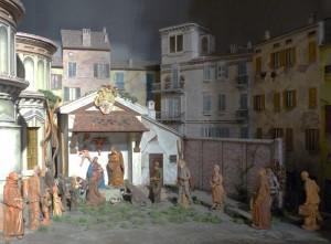 Terza cappella a destra - Presepe