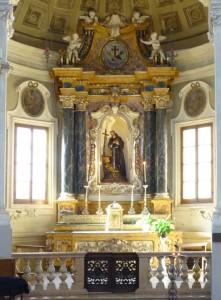 Quinta Cappella a sinistra