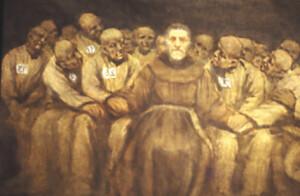 Padre lino e i carcerati