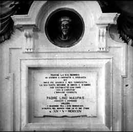 Monumento presso le carceri di San Francesco