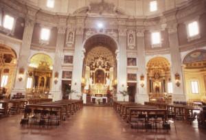 Interno della Chiesa della SS. Annunziata