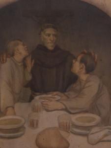 Padre Lino e i ragazzi del Riformatorio