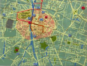 Cartina di Parma
