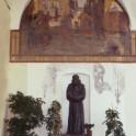 Statua nel Chiostro della SS. Annunziata