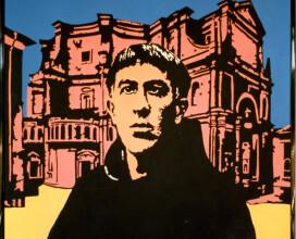 Acrilico su tela di Tiziano Marcheselli, aprile 1999